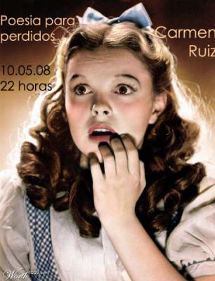 Y el sábado: Carmen Ruiz+Experimentos in da notte en la Campana de los Perdidos
