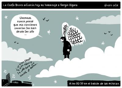 Sergio Algora letrista... Experimentos in da notte y amigos