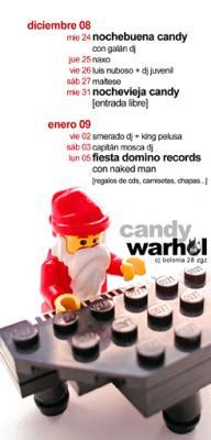 de Fernando Frisa y la programación del candy de propina